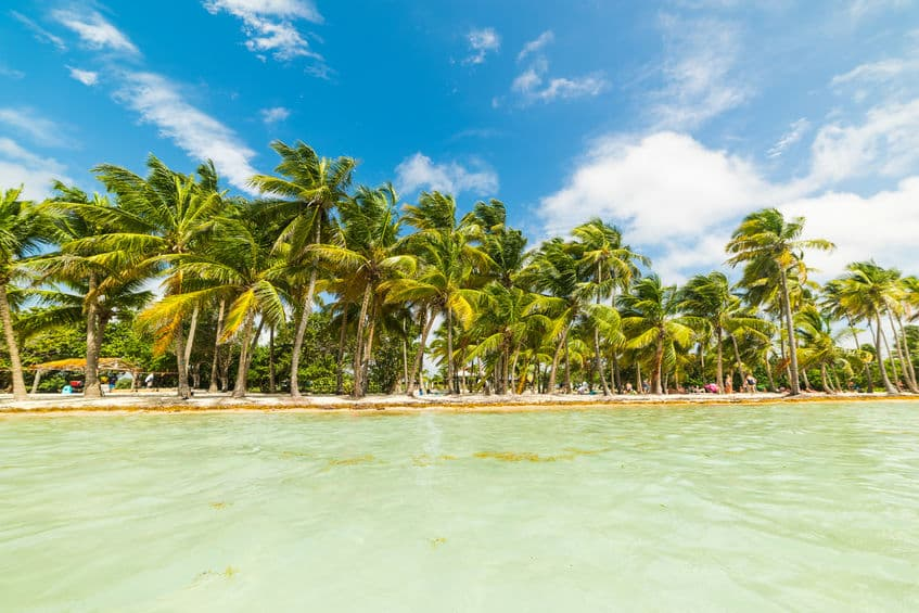 Quelle est la mer qui borde la Guadeloupe ?