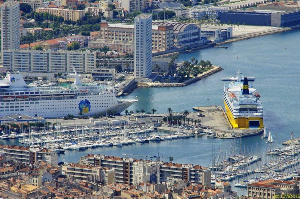 Agrandissement des quais de croisière à Toulon pour les croisiéristes