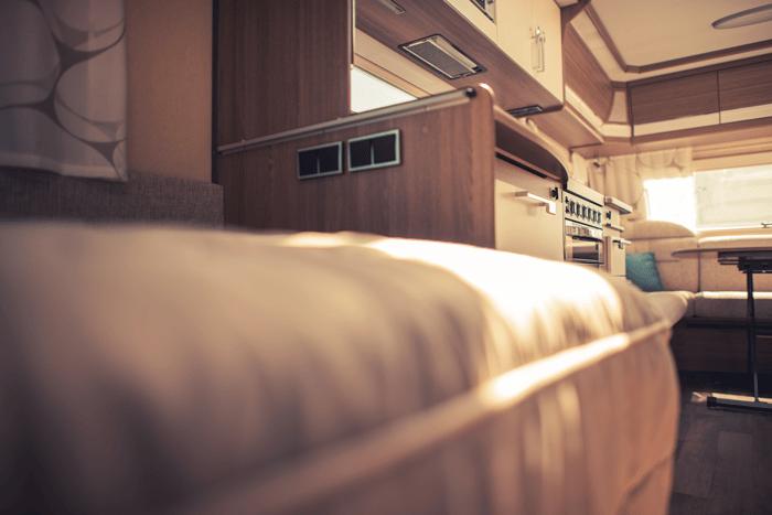 intérieur camping car
